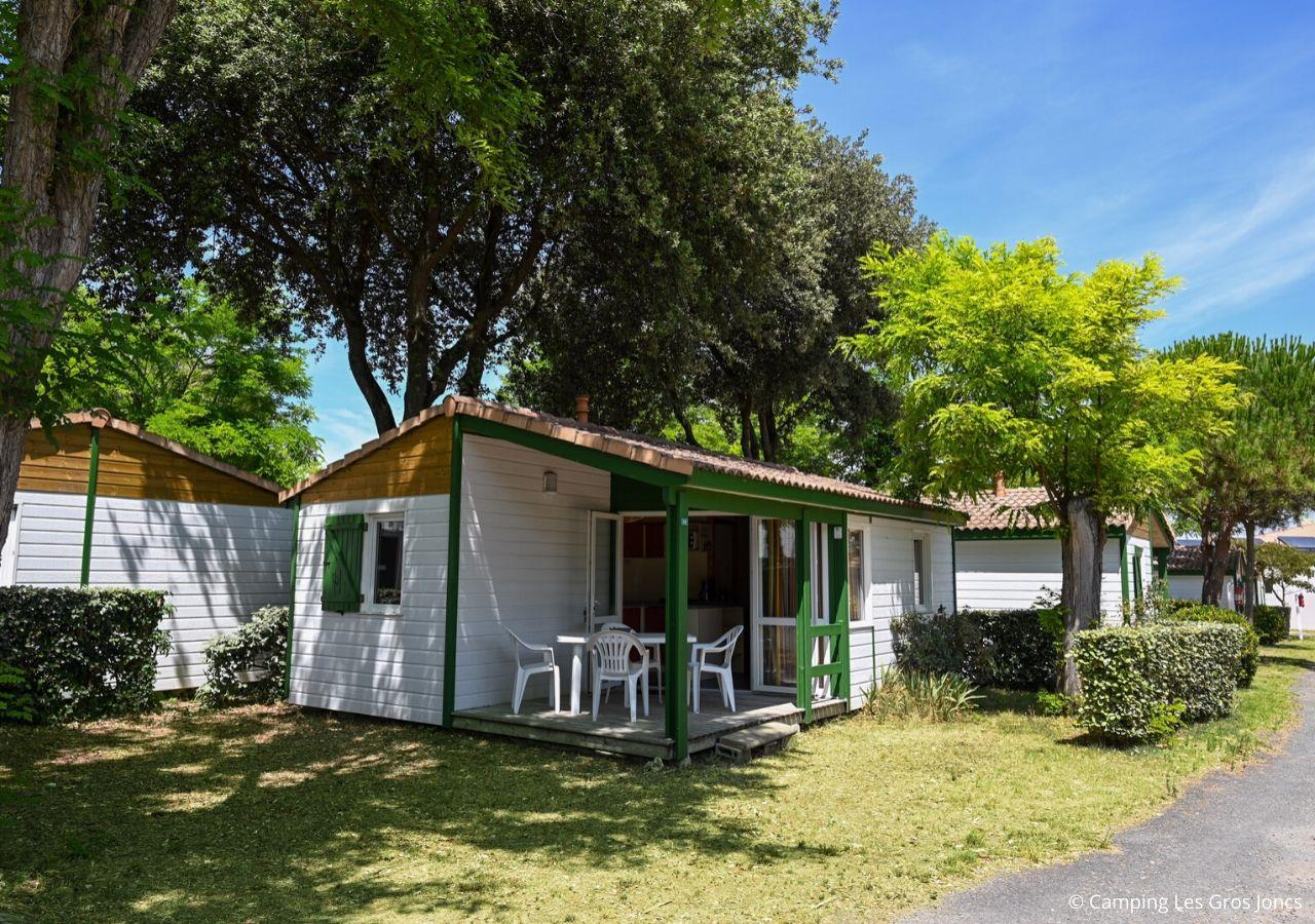 Location - Chalet Yucca - Camping Les Gros Joncs