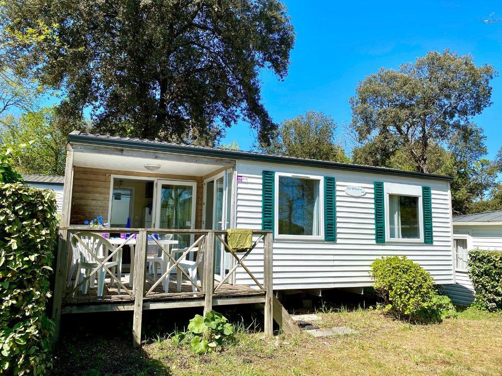 Location - Cottage Albizia - Camping Les Gros Joncs