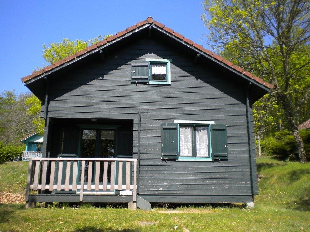Location - Chalet Damien 34M² - Camping de Fréaudour