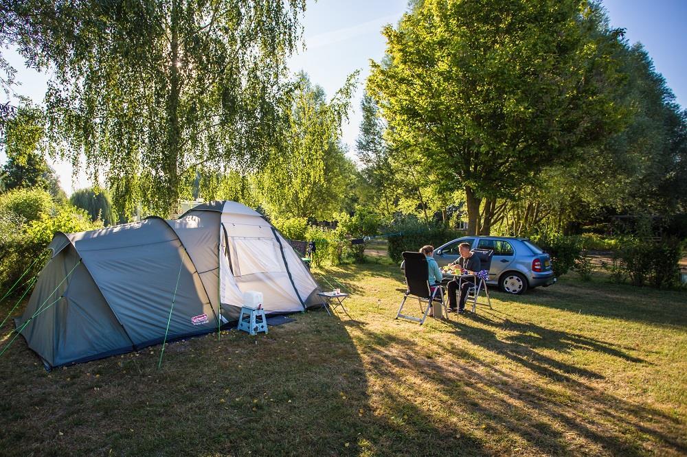 Emplacement - Emplacement Nature Sans Électricité - Camping Sites et Paysages Domaine de L'Étang