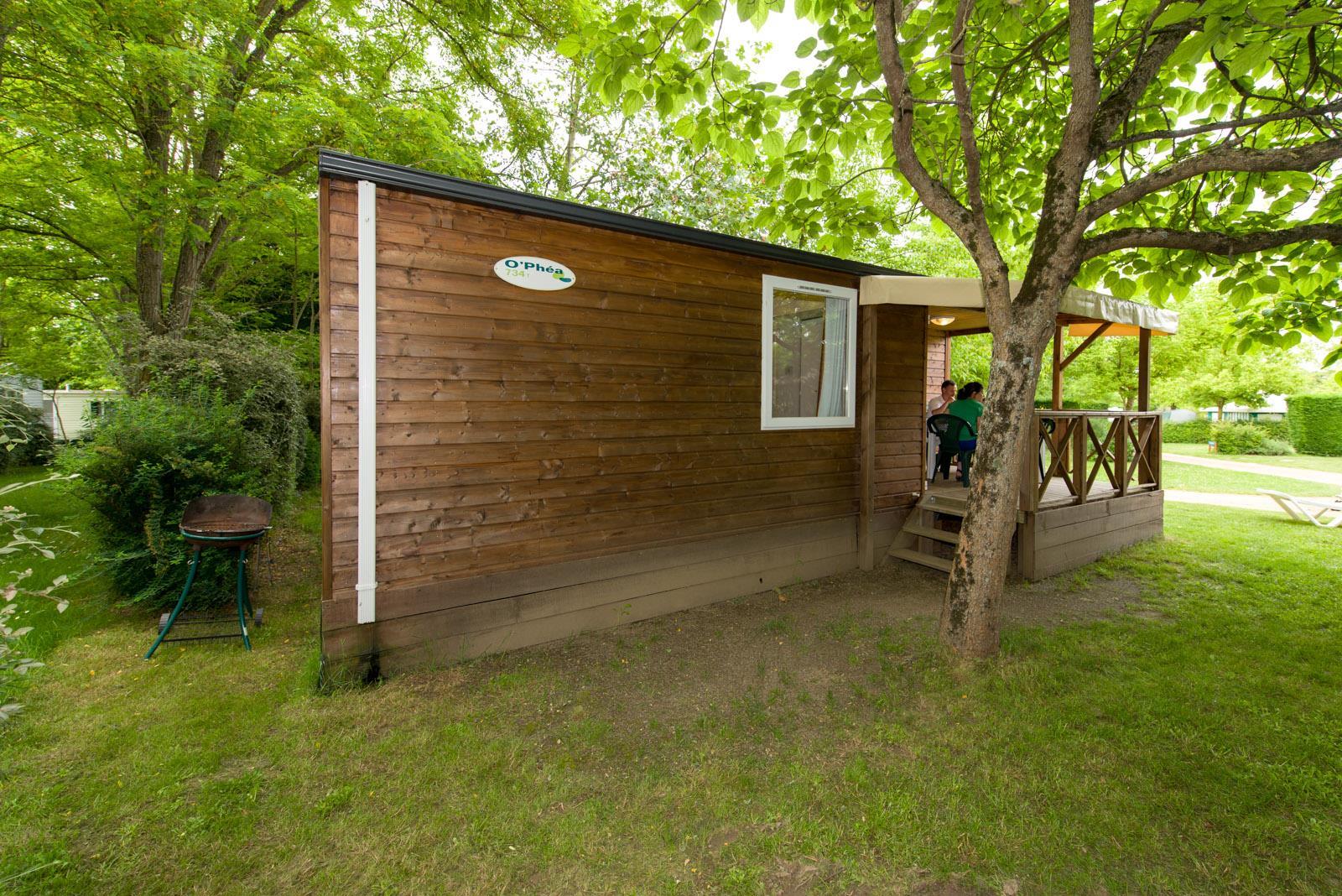 Location - Cottage Confort 27M² (2 Chambres) - Tv - Camping Sites et Paysages Domaine de L'Étang