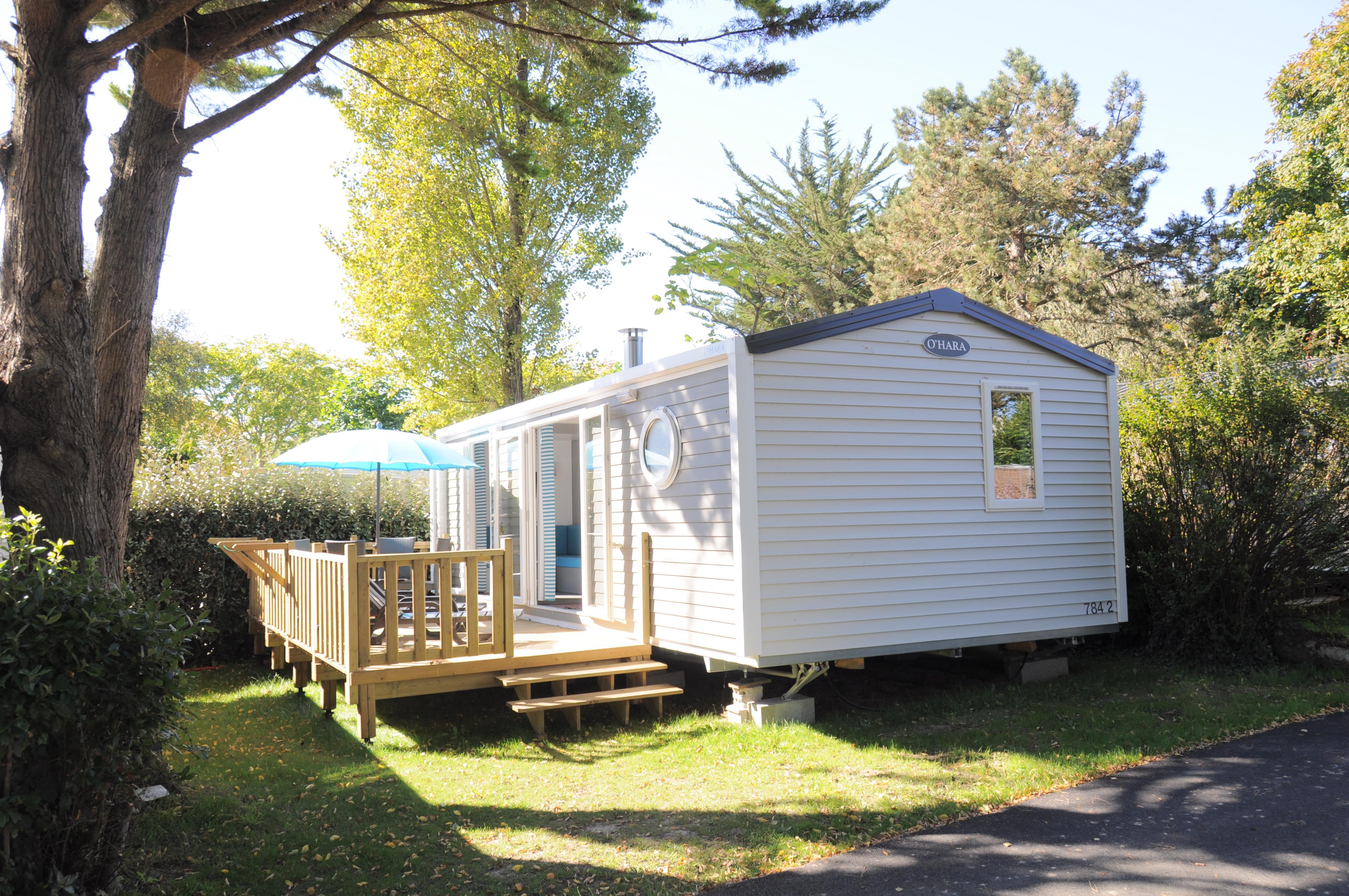 Location - Mobilhome Premium 2 Chambres  31.20M² - Camping International Le Raguenès Plage