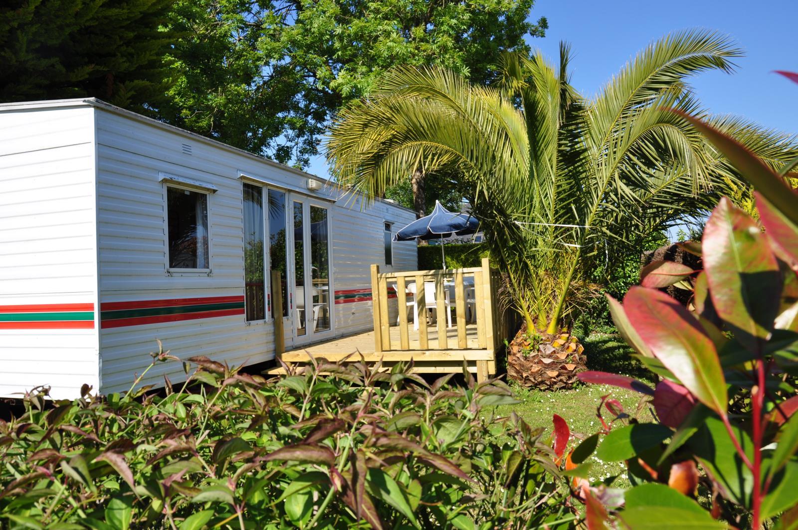 Location - Mobilhome Xl Basic Eco 3 Chambres 34.4M² - Camping International Le Raguenès Plage