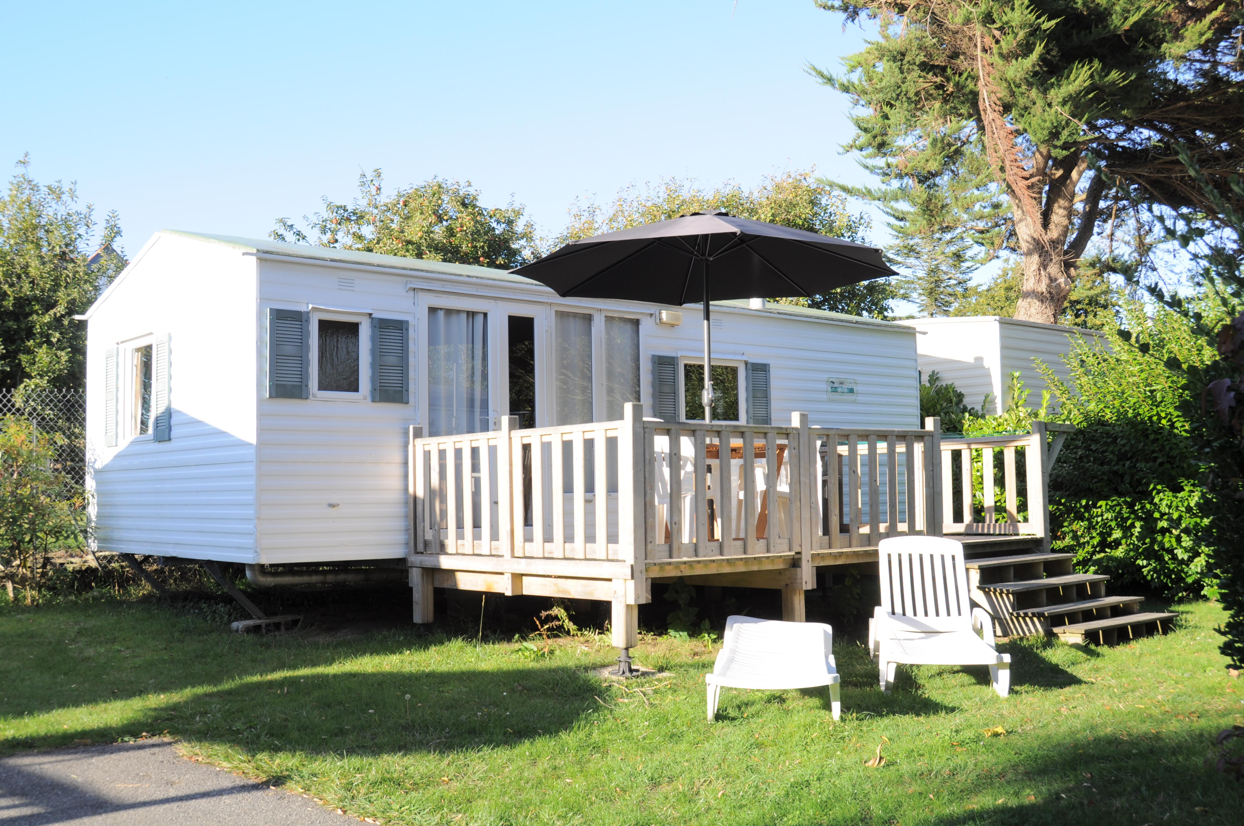 Location - Mobilhome Cottage Modesty 2 Chambres 30M² - Camping International Le Raguenès Plage