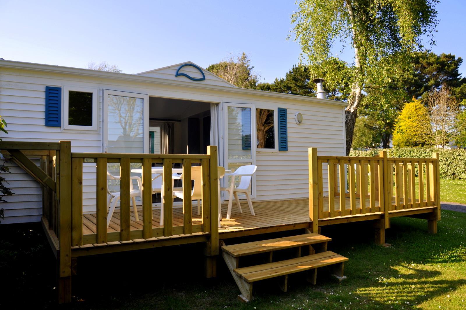 Location - Mobilhome Glenan 2 Chambres 30M² - Camping International Le Raguenès Plage