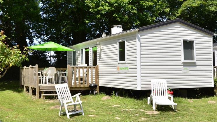 Location - Mobilhome Xl Ocean 3 Chambres - Camping International Le Raguenès Plage