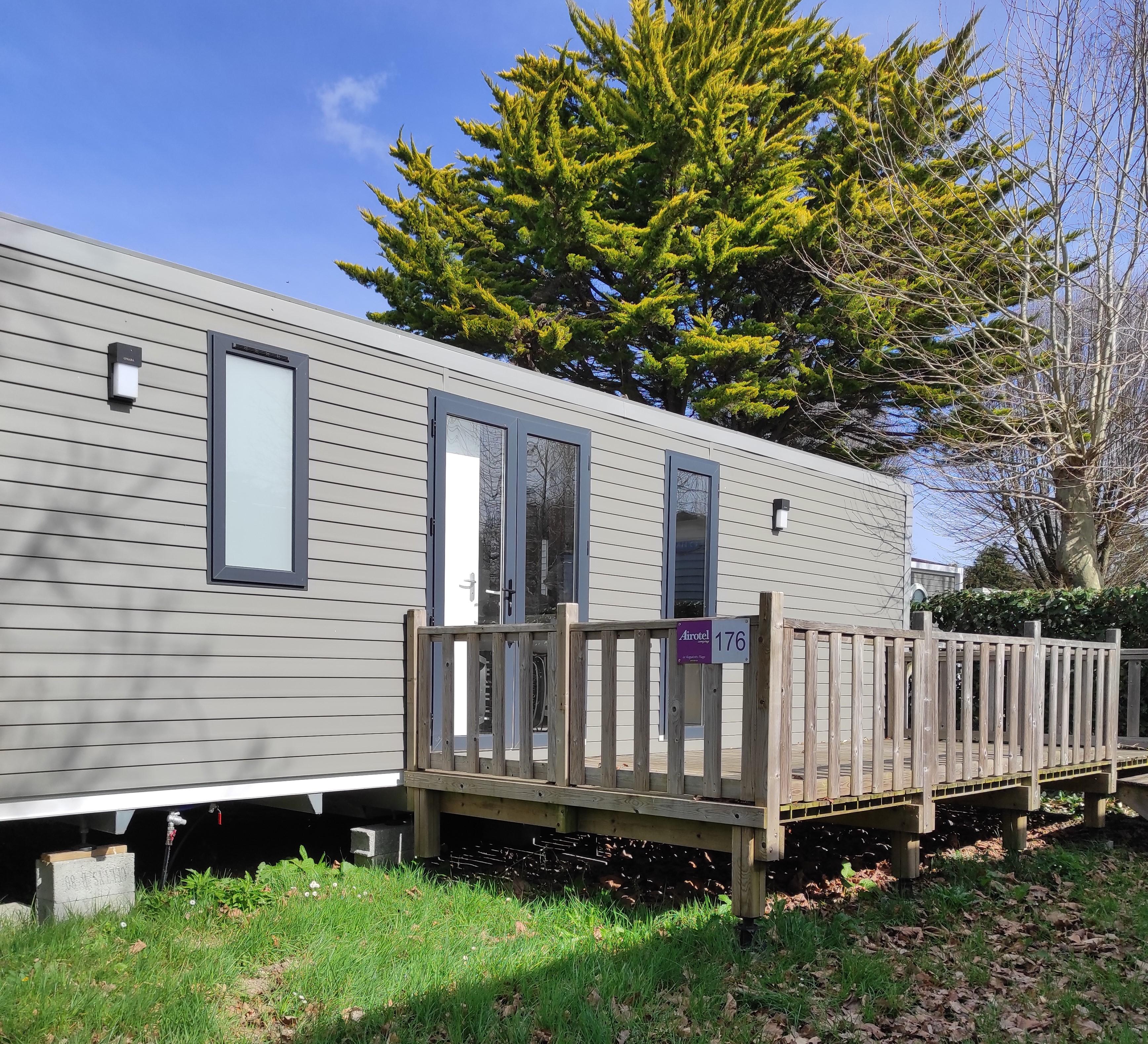 Location - Mobilhome Xl Premium 3 Chambres 33 M² + Lave-Vaisselle - Camping International Le Raguenès Plage