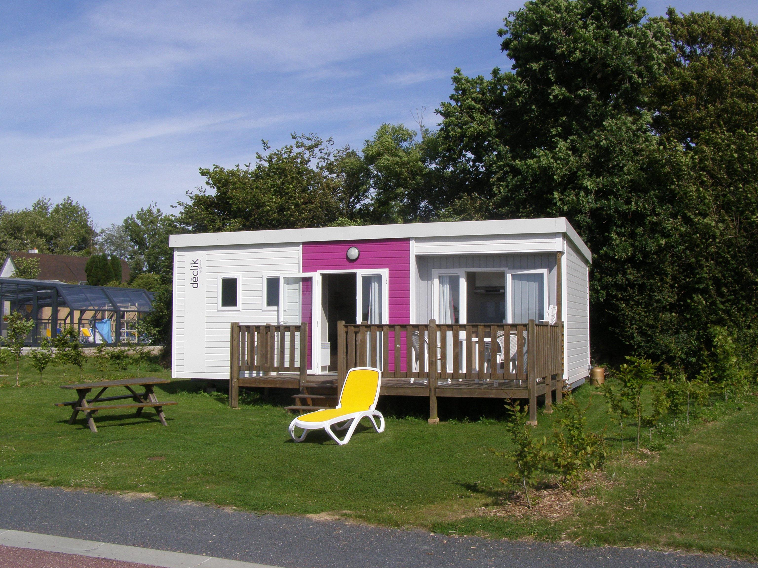 Location - Declik 28M² - 2 Chambres - - Camping L'Étang des Haizes
