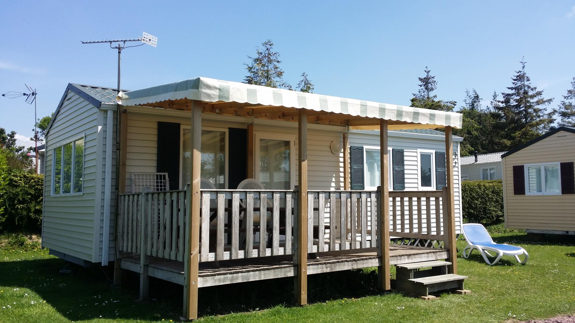 MOBIL-HOME 30m² - 2 chambres -