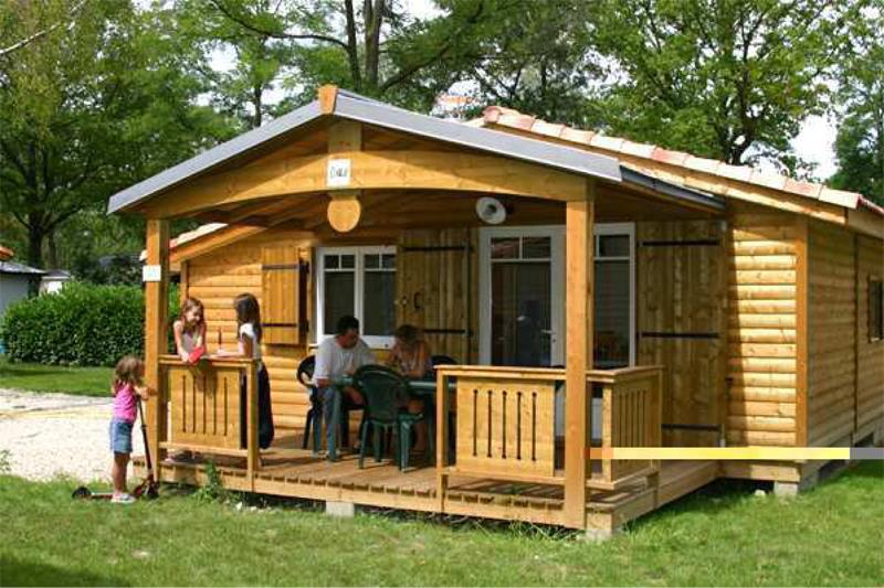 Accommodation - Chalet Charlay 2 Bedrooms - Capfun - Camping Plan du Fernuy