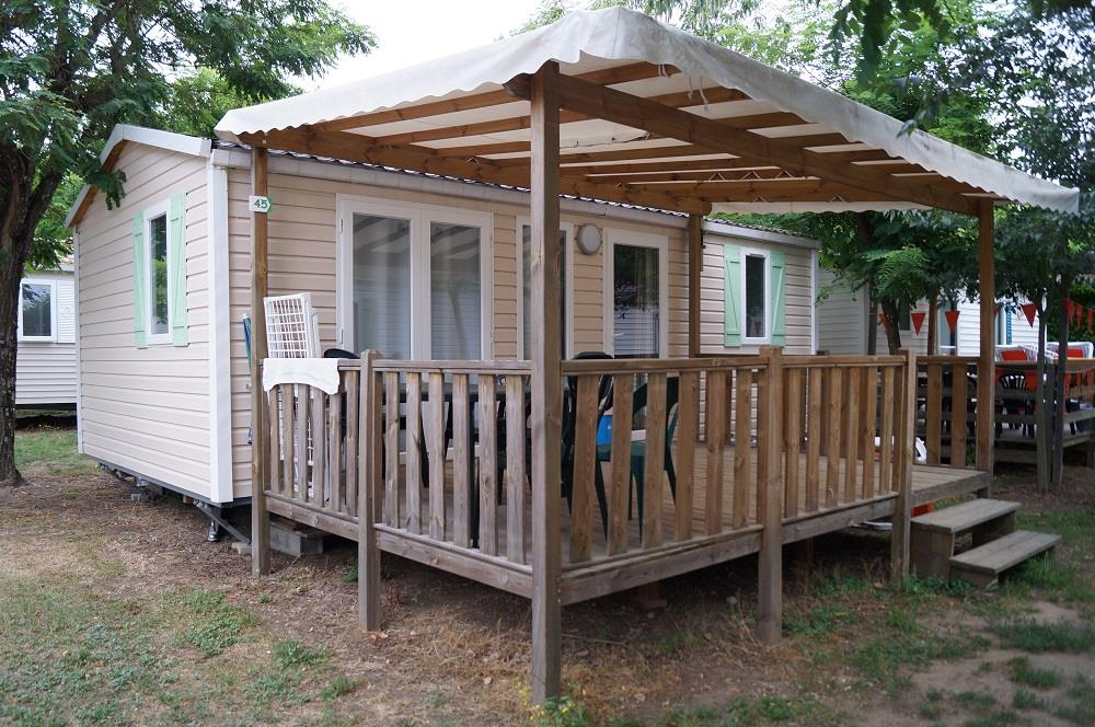 Accommodation - Mobile-Home 30M² - 2 Bedrooms - Camping La Nouzarède