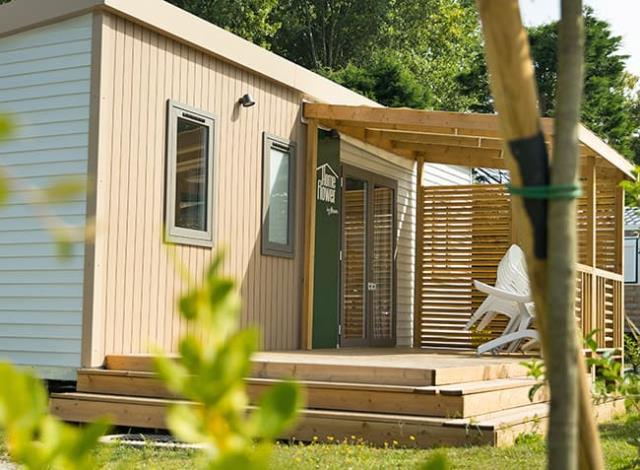 Mobil-home Premium HOMERFLOWER 26m² - Lave-vaisselle - Climatisation - 2 chambres
