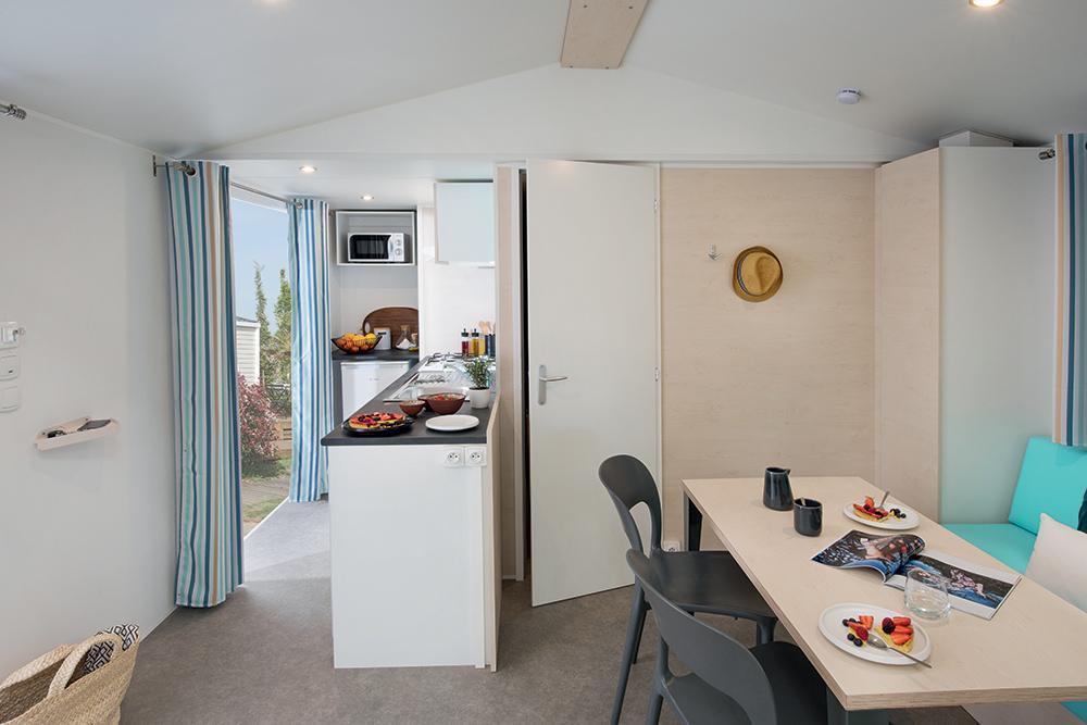 Mobil-home Confort+ SUPER MERCURE RIVIÉRA 27 m² - 2 chambres