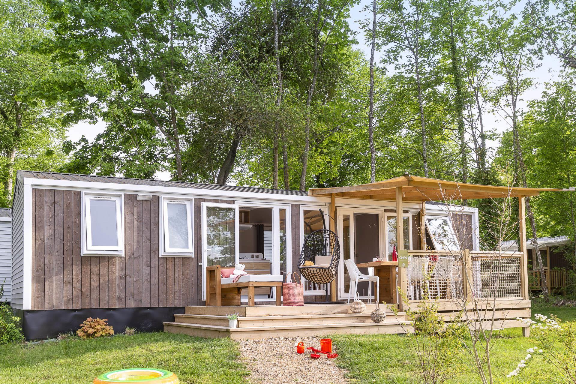 Location - Cottage Cheverny 3 Chambres 2 Salles De Bain - Clim Premium - Camping Sandaya Le Château des Marais