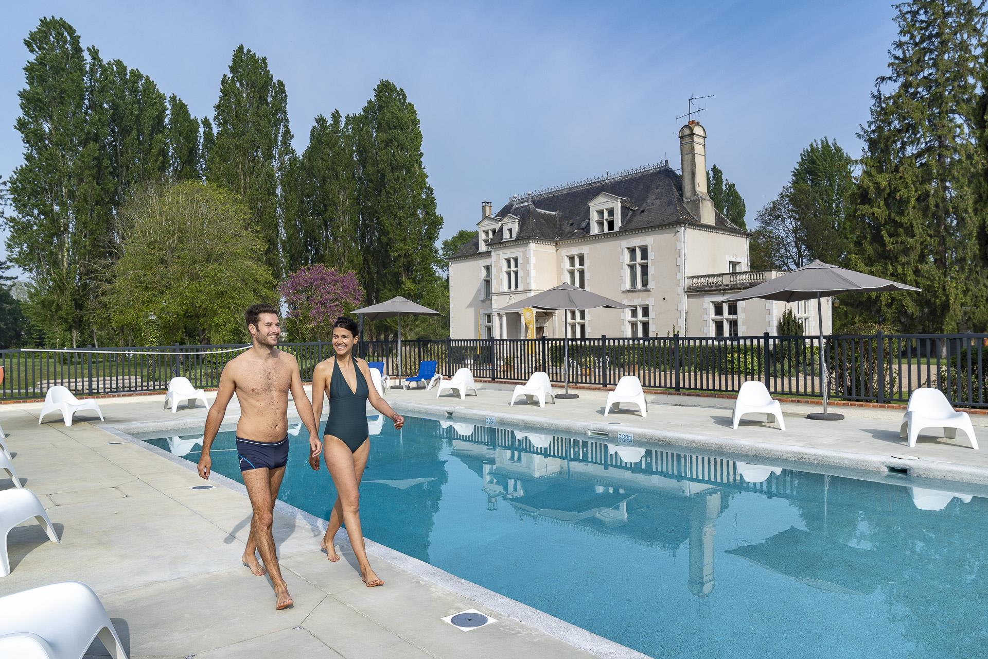 Camping Chateau des Marais, Muides-sur-Loire, Loir-et-Cher