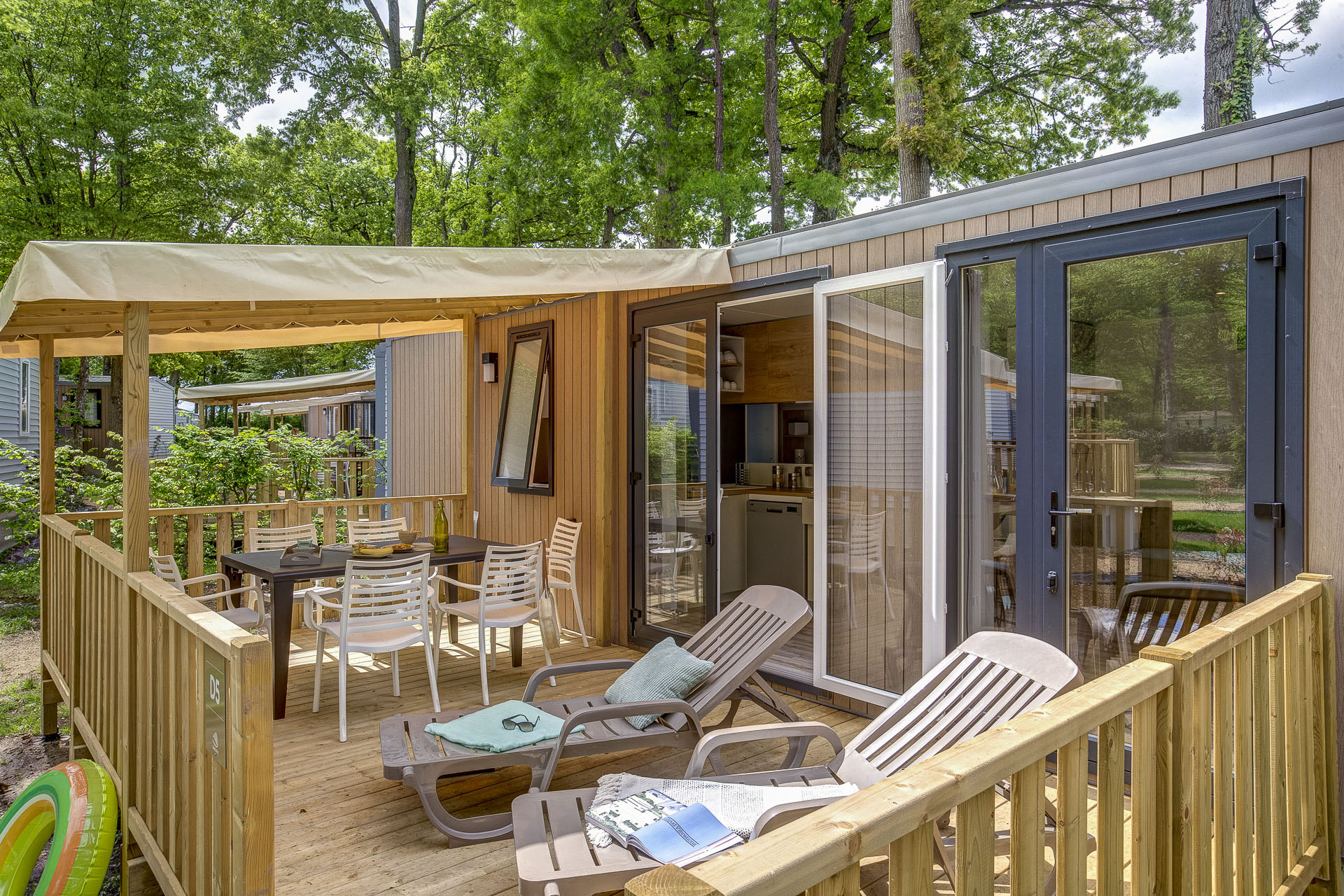 Location - Cottage 3 Chambres 2 Salles De Bain **** - Camping Sandaya Le Château des Marais