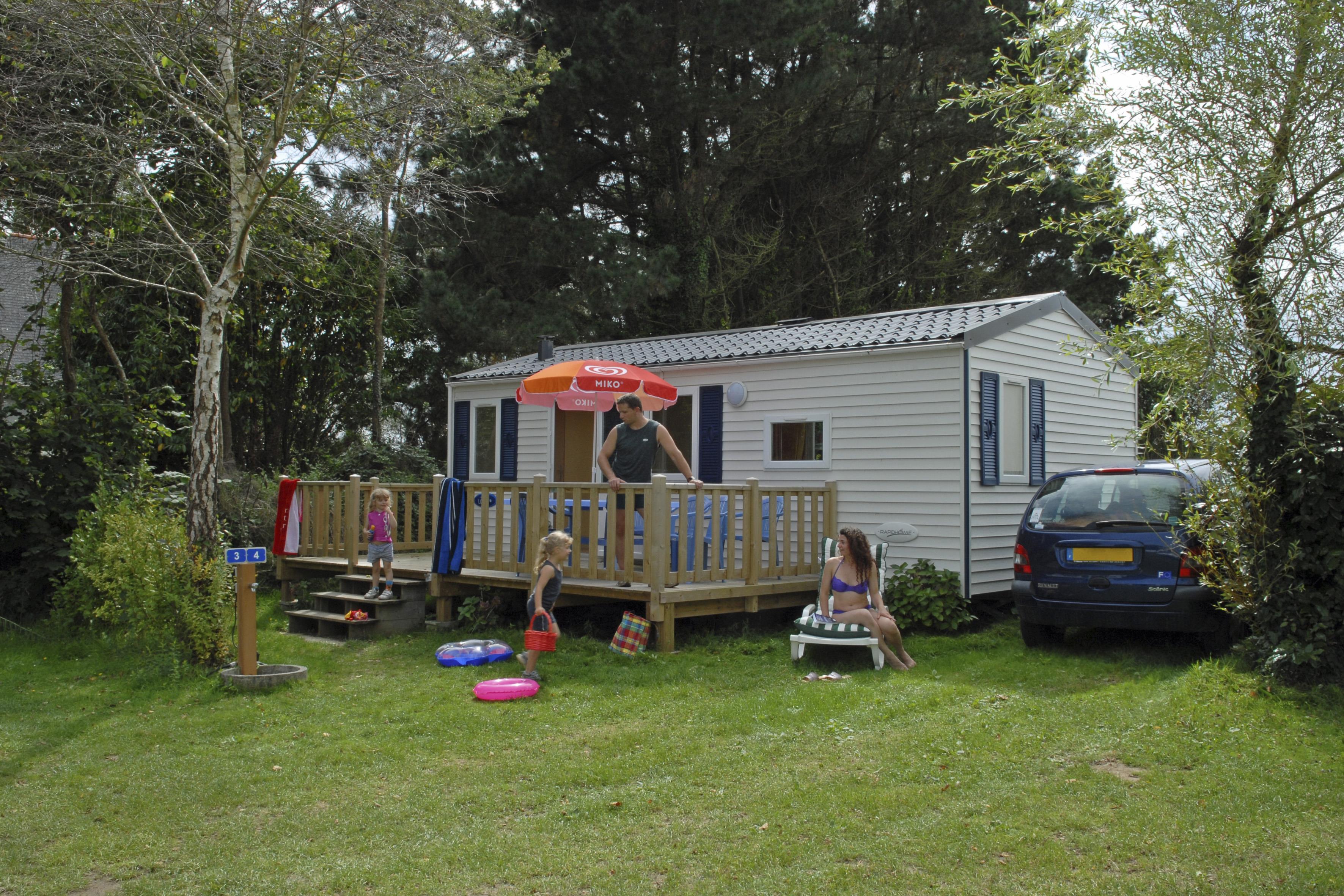 Location - Mobilhome Marine - 2 Chambres - Camping de la Piscine