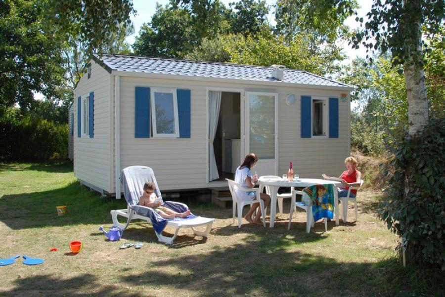 Location - Mobil-Home Bikini - 2 Chambres - Camping de la Piscine