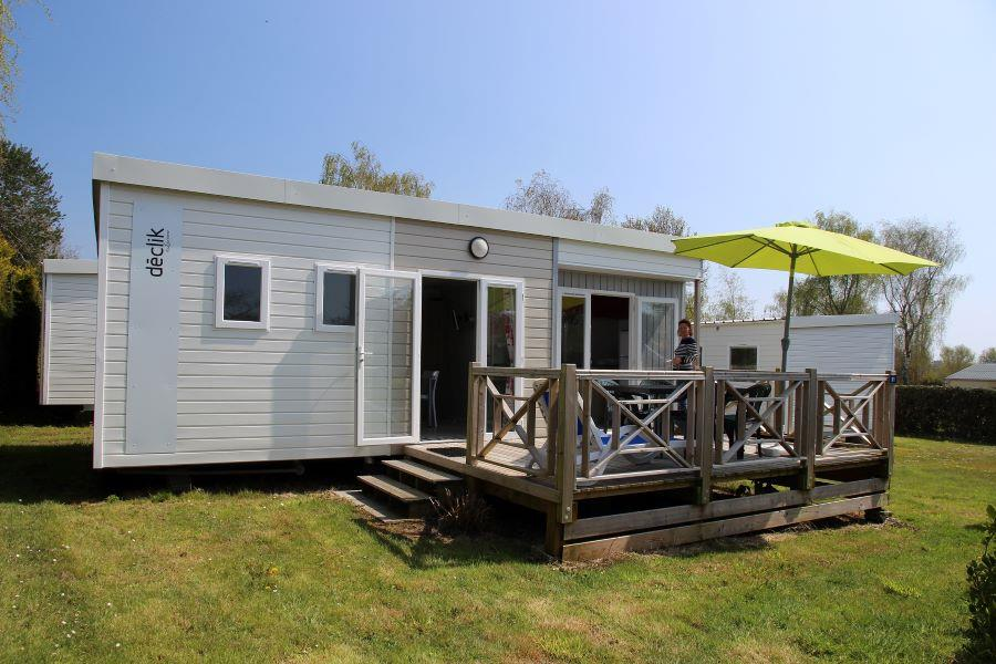 Location - Mobilhome Déclik - 2 Chambres - Camping de la Piscine