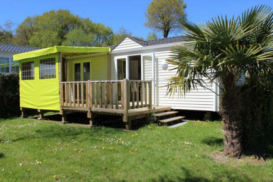 Location - Mobil-Home Grand Large Confort 2 Chambres - Camping de la Piscine