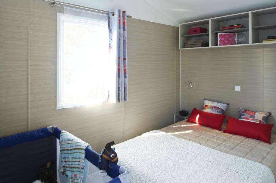 Location - Mobil-Home Nirvana 5 Pers. +1 Bébé - Camping de la Piscine
