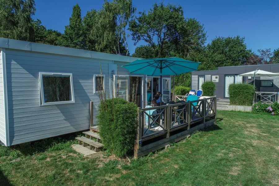 Location - Mobil-Home Déclik - 3 Chambres - Camping de la Piscine