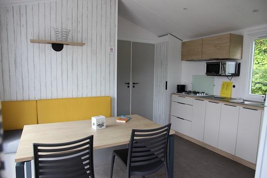 Location - Mobil-Home Malaga Duo 2 Chambres - Camping de la Piscine