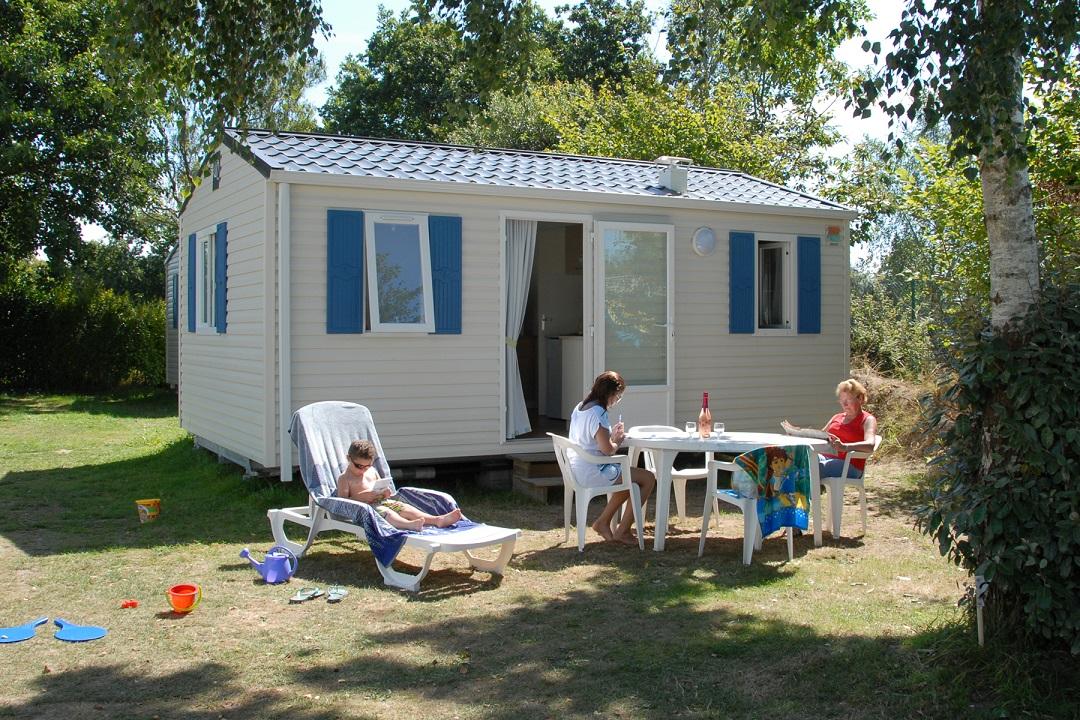 Location - Mobil-Home Bikini2 - Camping de la Piscine