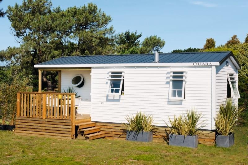 Location - Mobile Home Marina 29M² Avec Terrasse Semi-Couverte - Camping Le Panoramic
