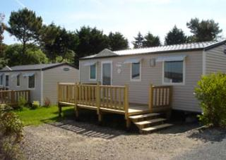 Location - Mobile Home Family 29.50M² Avec Terrasse Bois Non Couverte - Camping Le Panoramic