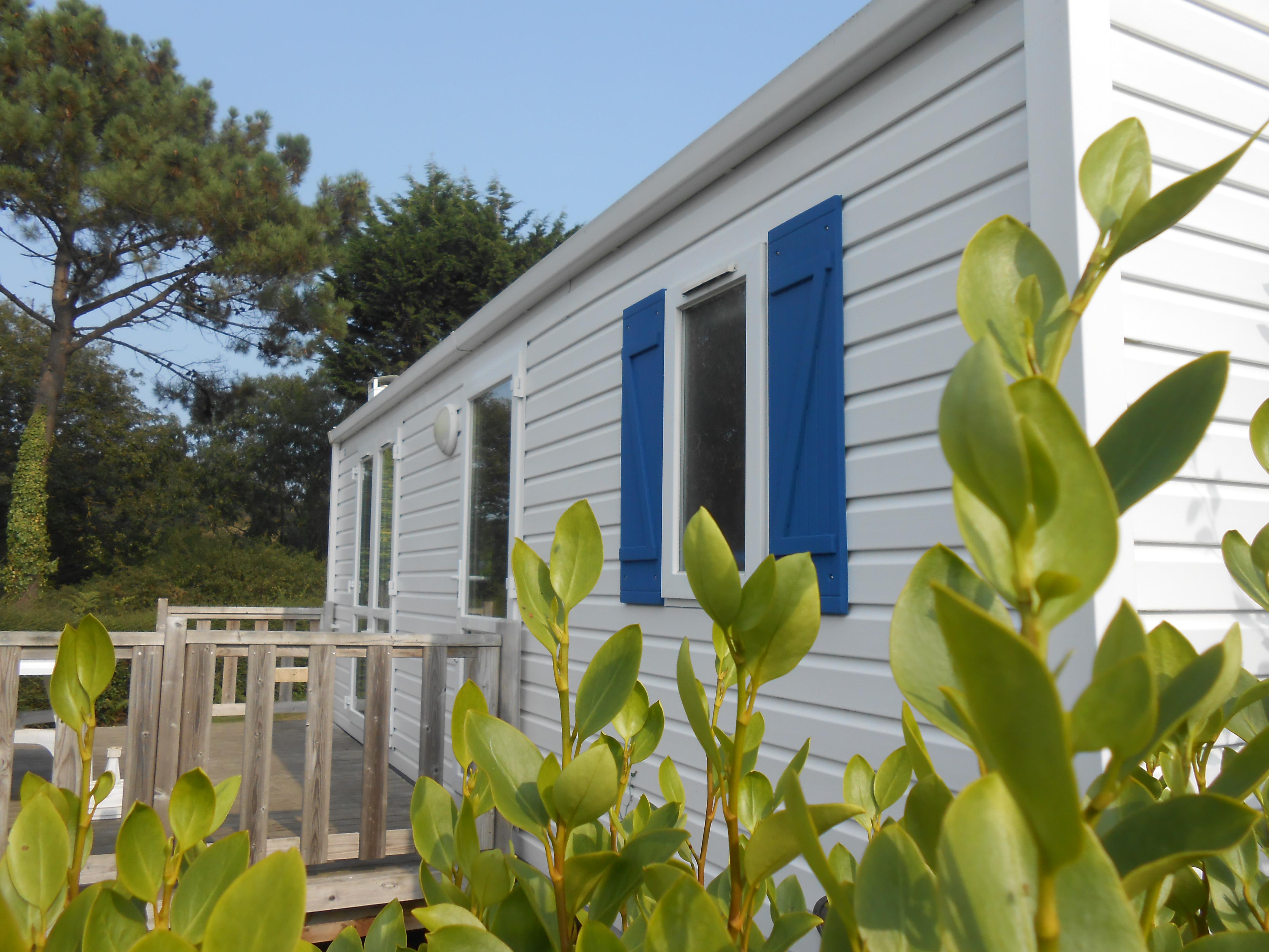 Location - Mobile Home Mercure 27.5M² Avec Terrasse Non Couverte - Camping Le Panoramic