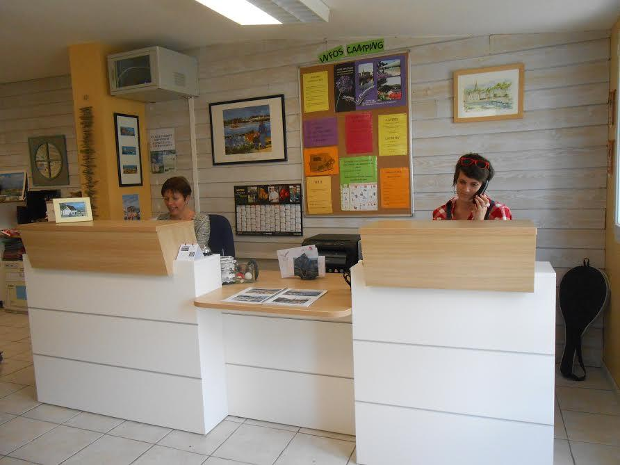 Reception team Camping Le Panoramic - Binic