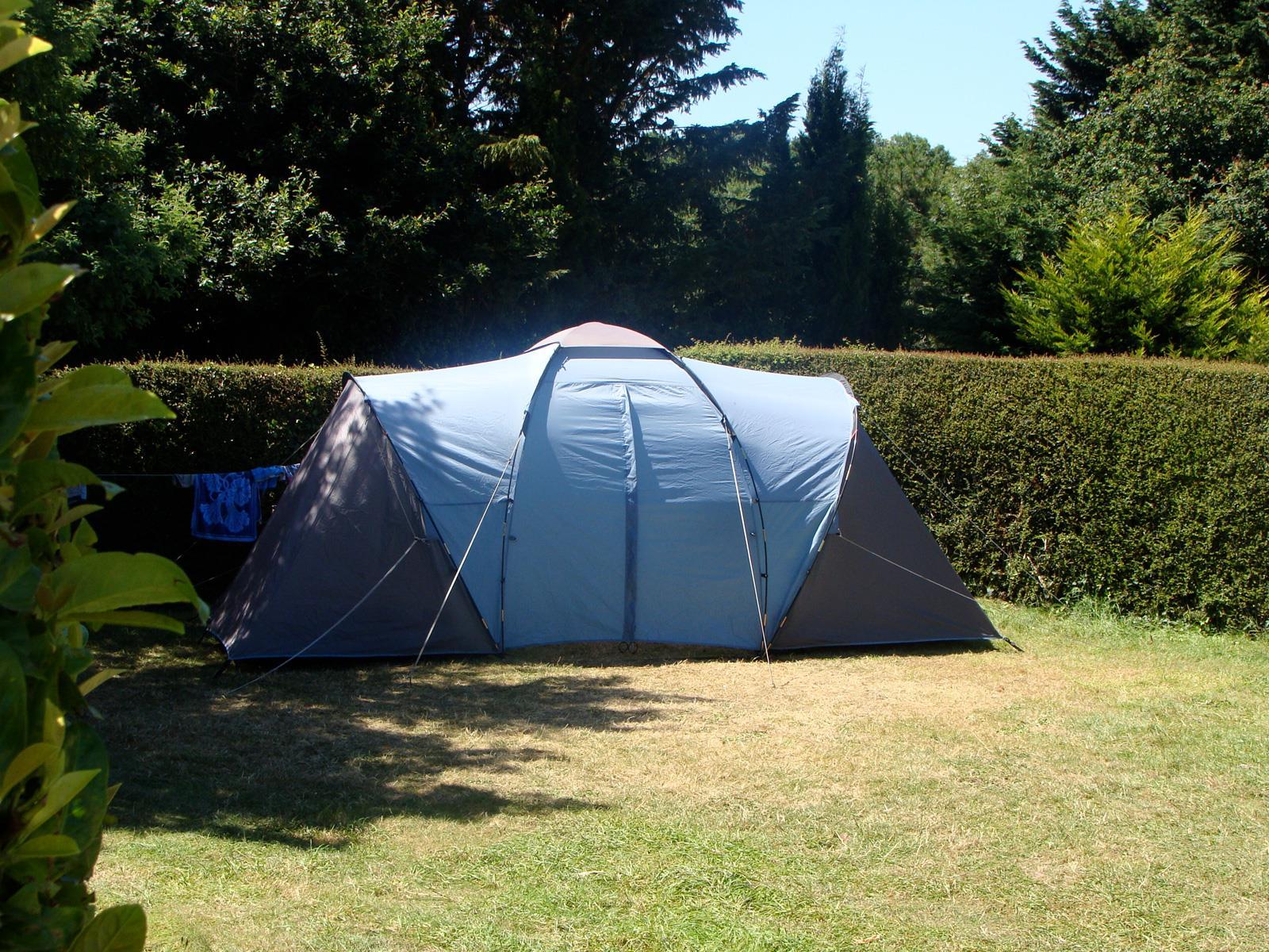 Emplacement - Emplacement Nature Sans Électricité - Camping Le Panoramic