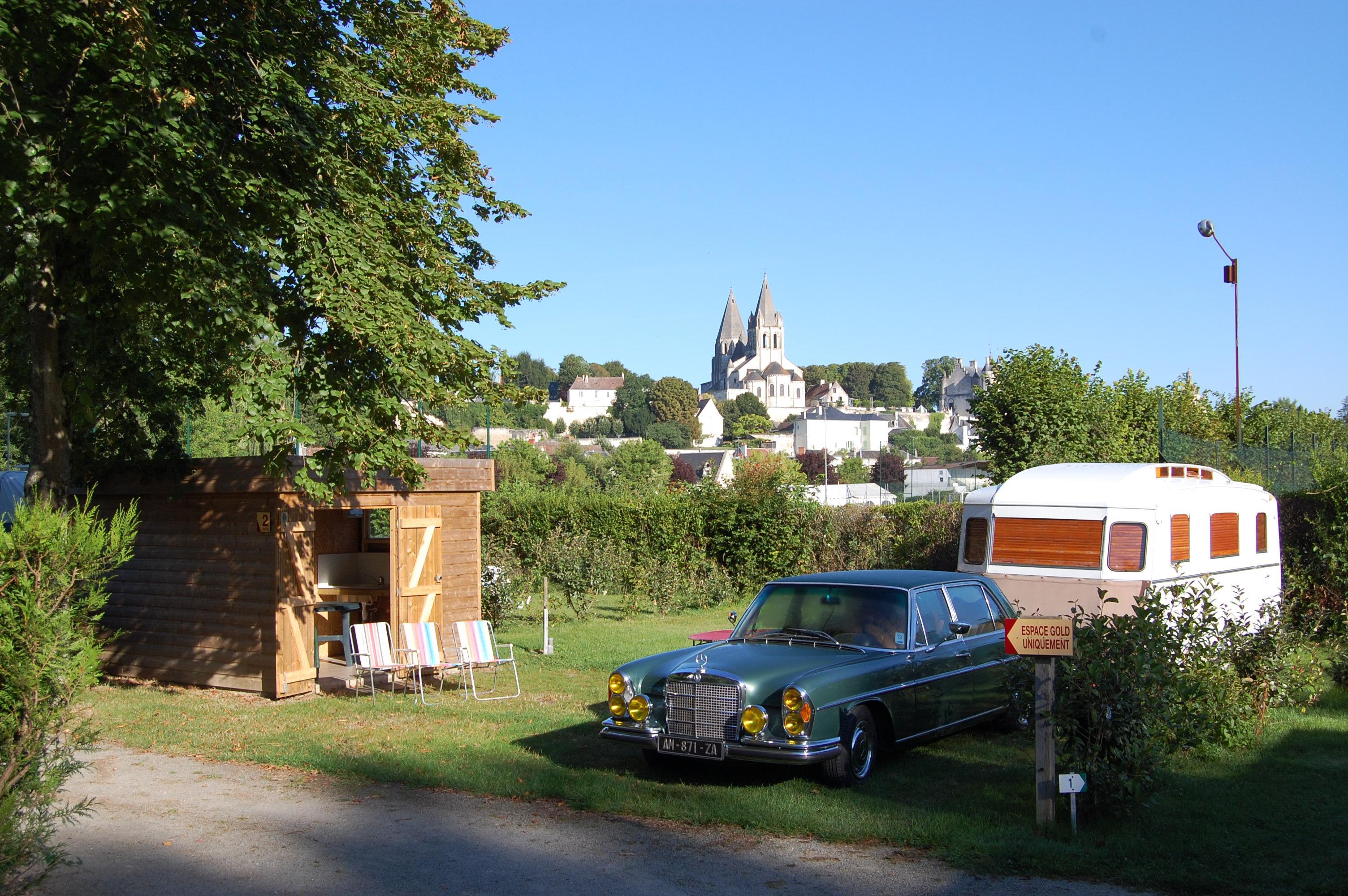Camping la Citadelle, Loches, Indre-et-Loire
