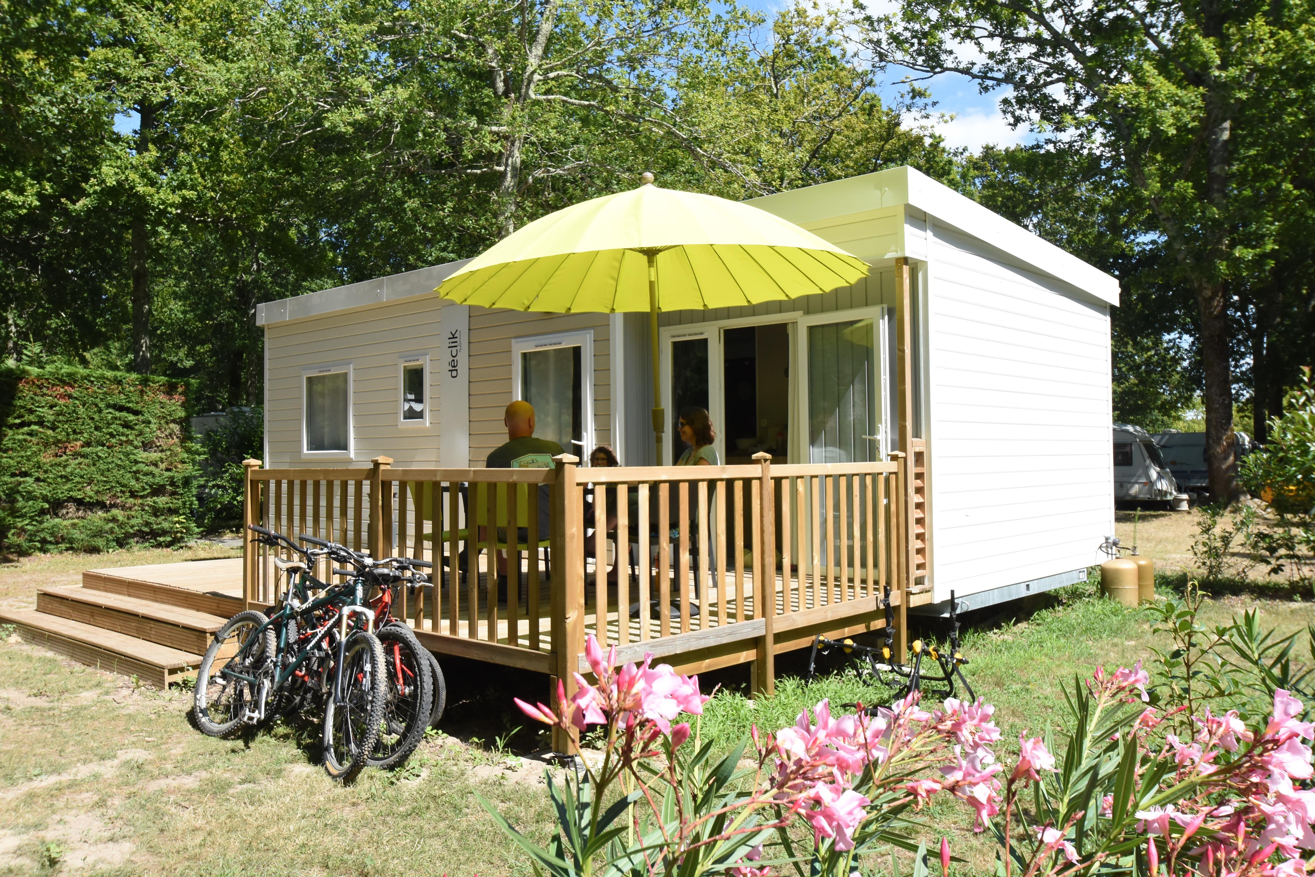 Location - Mobilhome Louisiane Declik - 3 Chambres - Camping Le Logis du Breuil