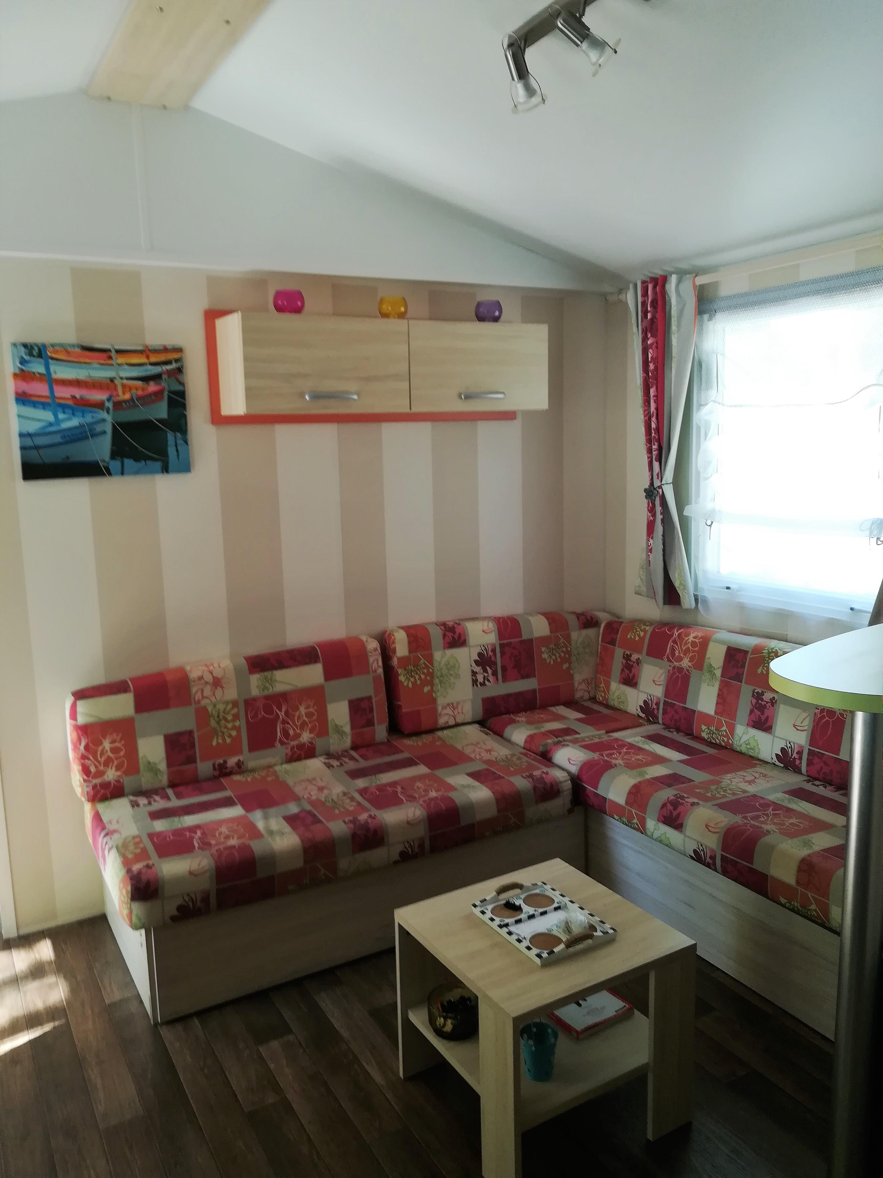 Location - Mobilhome Super Titania Confort - 2 Chambres (Z09) - Camping Le Logis du Breuil