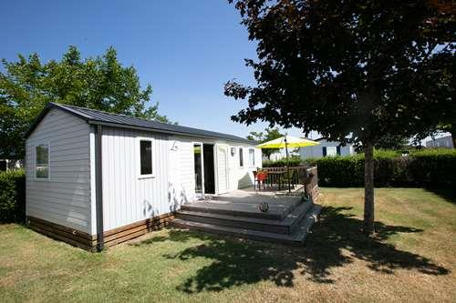 Location - Mobilhome Louisiane Flores  - 3 Chambres - Camping Le Logis du Breuil