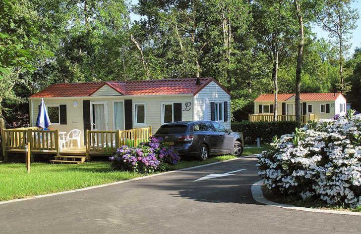 Location - Mobil-Home - Camping Sites et Paysages Lou P'tit Poun