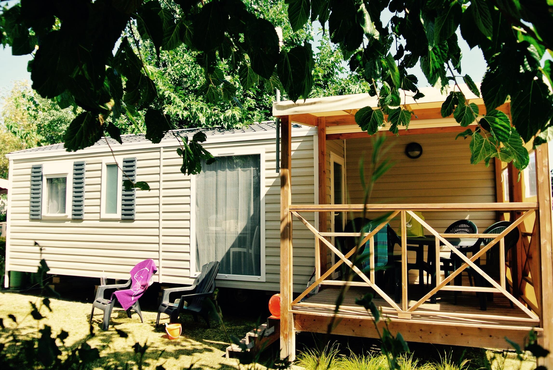 Location - Cottage Malaga Grand Confort Plus / S - Camping Le Littoral