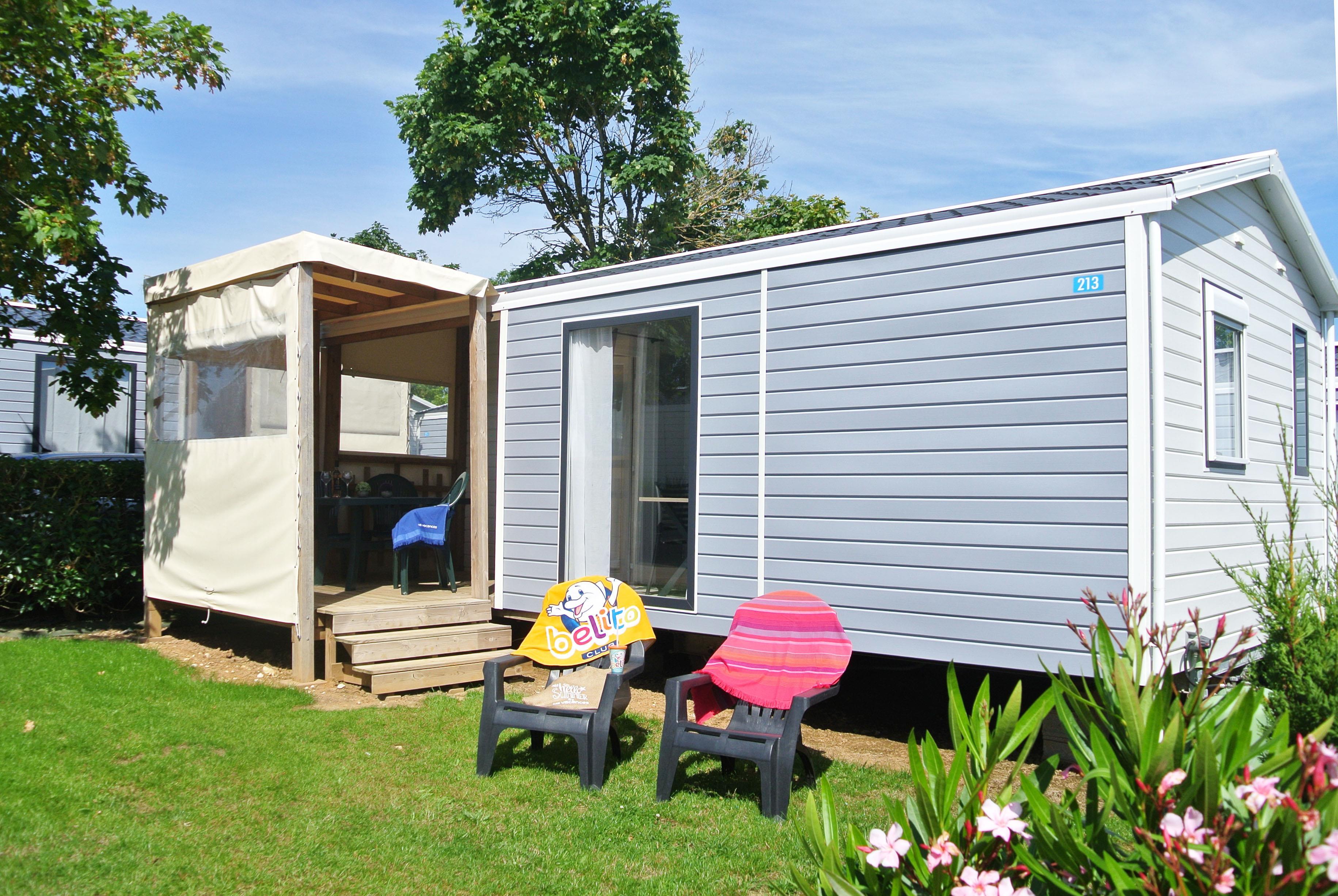 Location - Cottage Méditerranée Grand Confort Plus / S - Camping Le Littoral