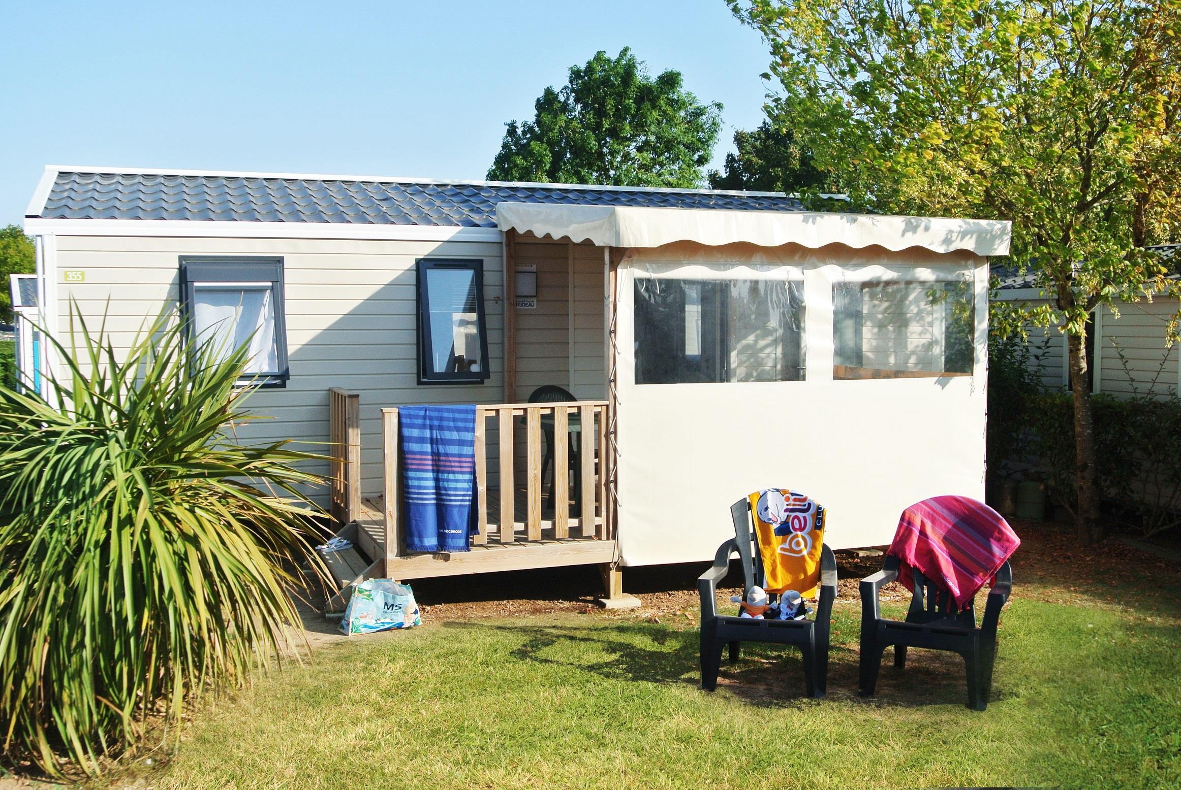 Location - Cottage Bermudes Trio Grand Confort Plus / S - Camping Le Littoral