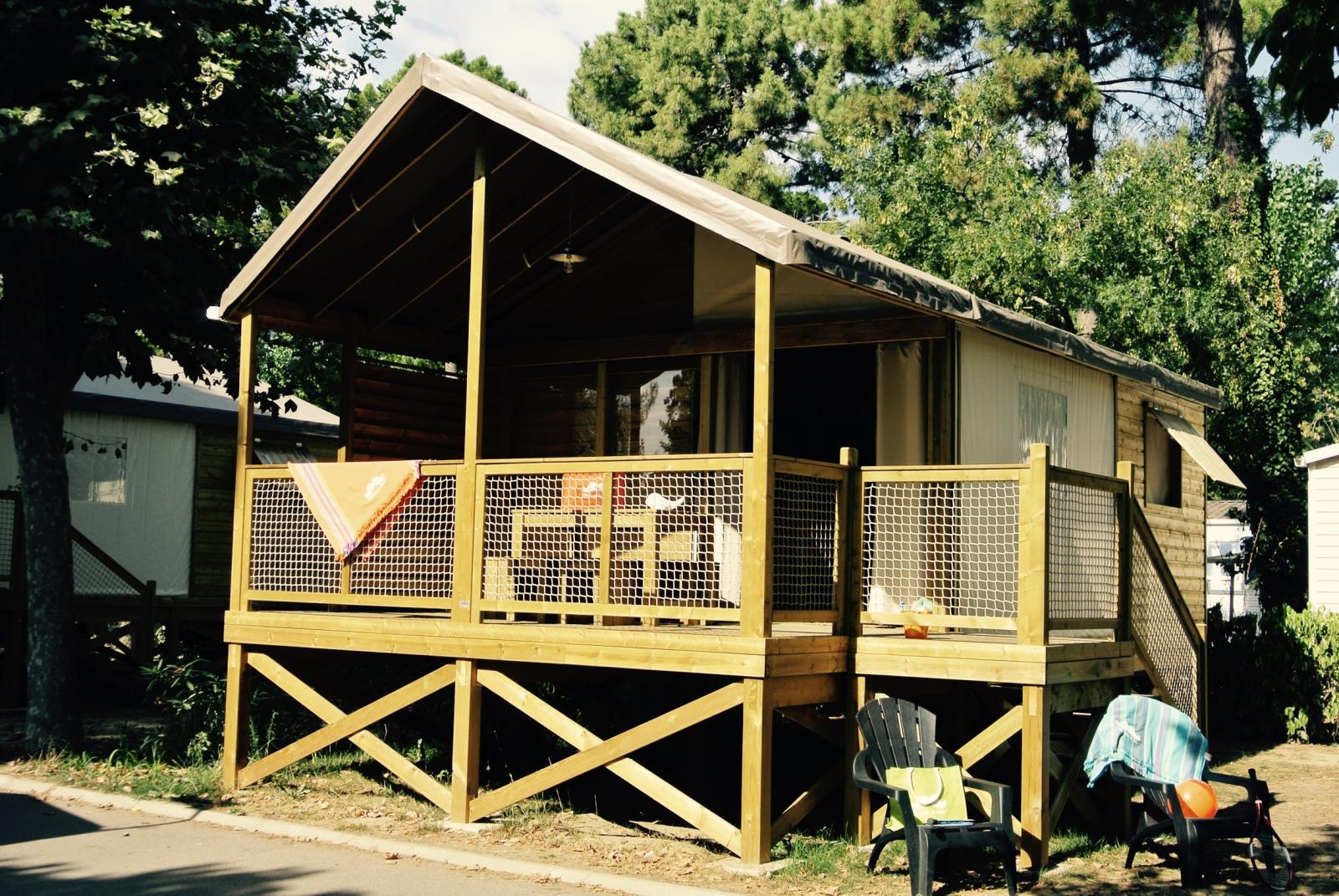 Location - Ecolodge Kamari Junior / D - Camping Le Littoral