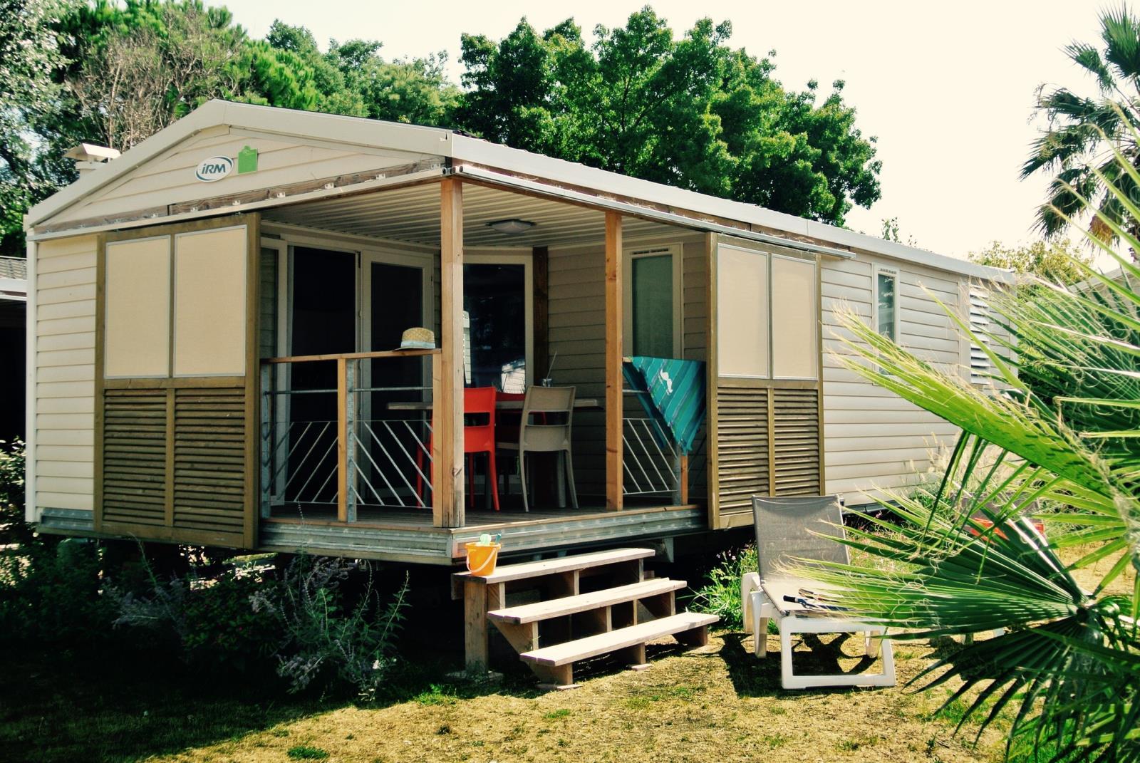 Location - Cottage Soleo Grand Confort Plus / M - Camping Le Littoral