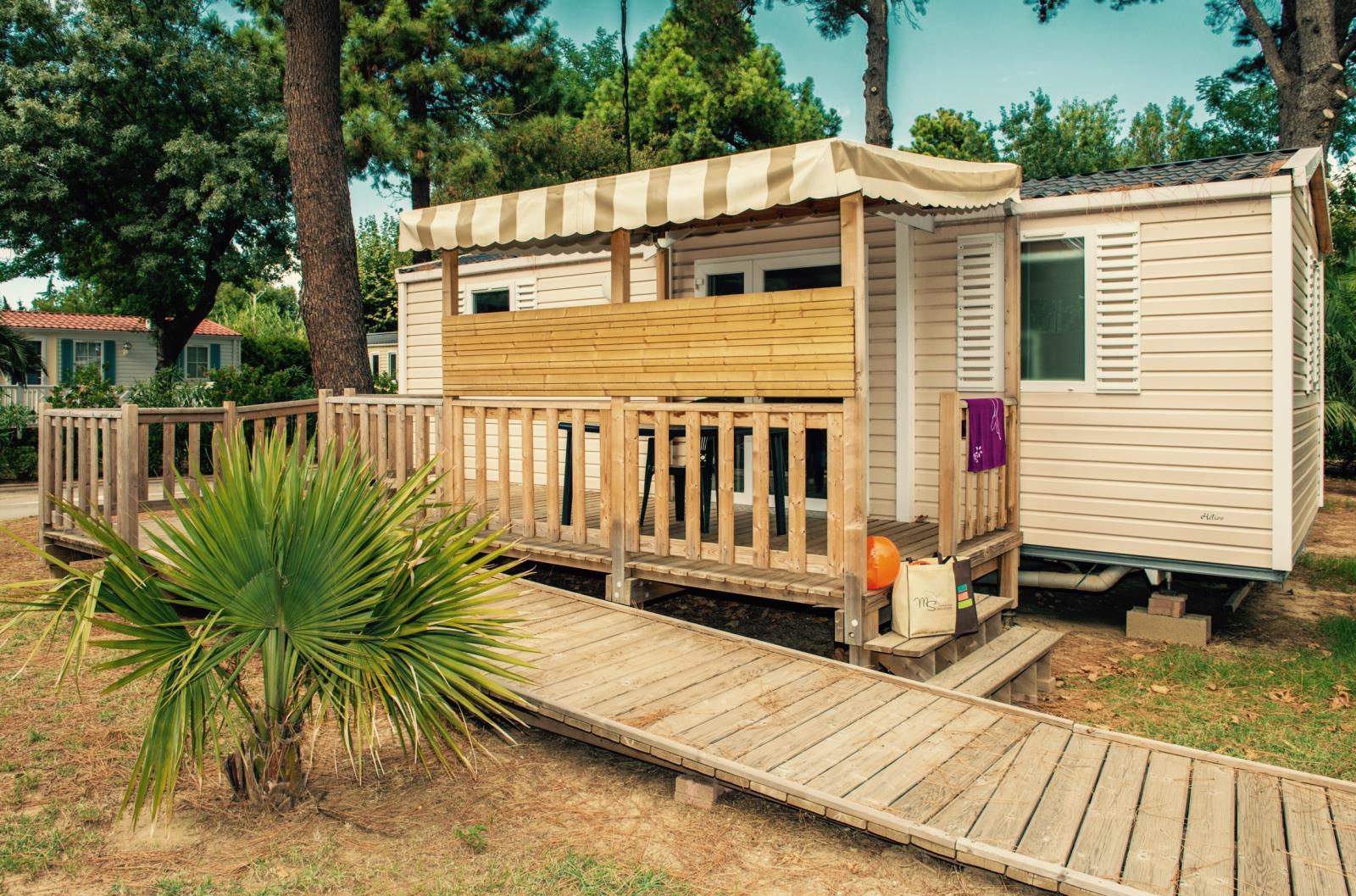 Location - Cottage Access' Grand Confort (Adapté Pour Personne À Mobilité Réduite) / D - Camping Le Littoral
