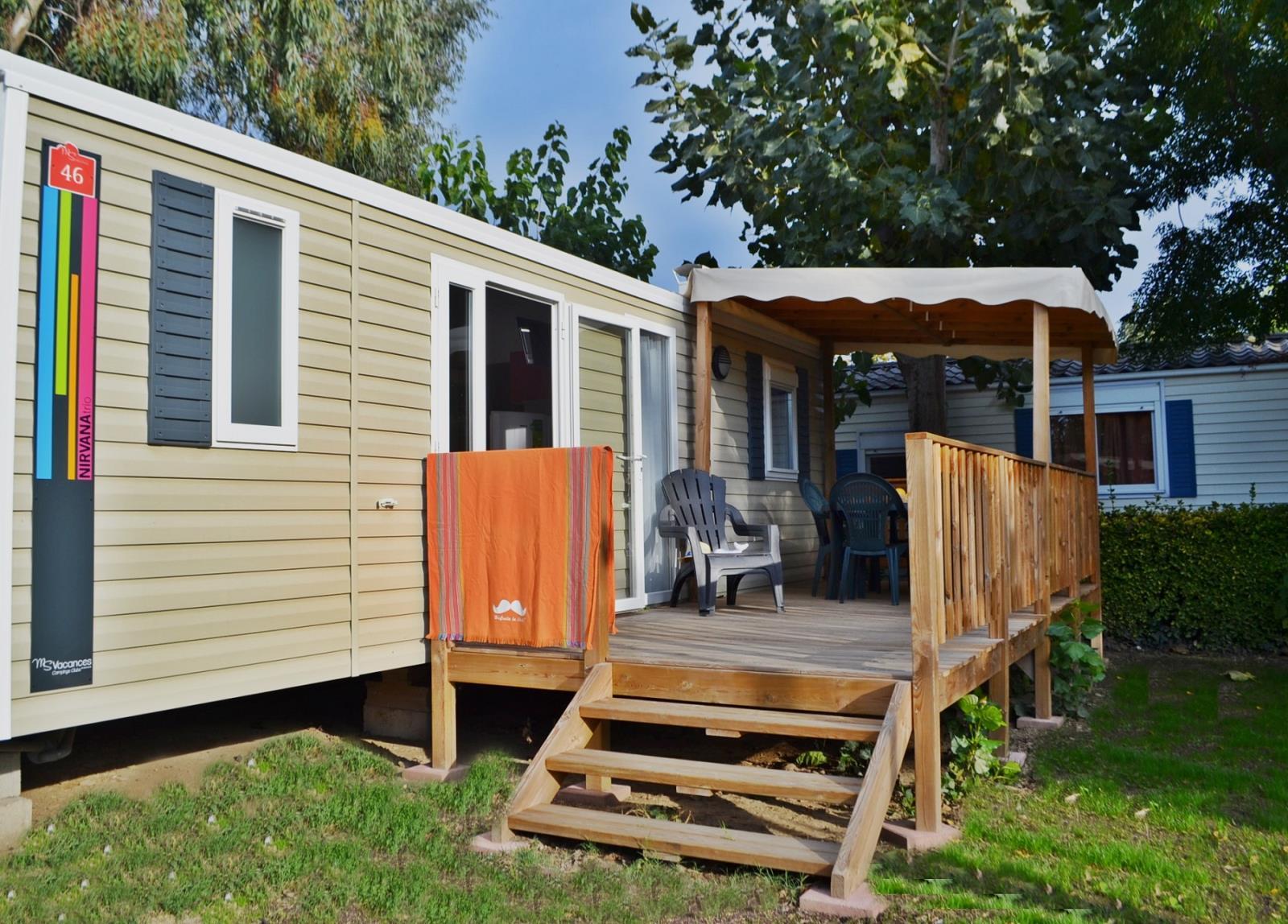 Location - Cottage Tamaris Grand Confort / M - Camping Le Littoral