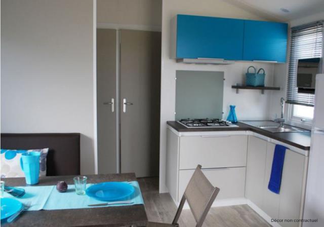 Location - Cottage Malaga Grand Confort Plus / D - Camping Le Littoral