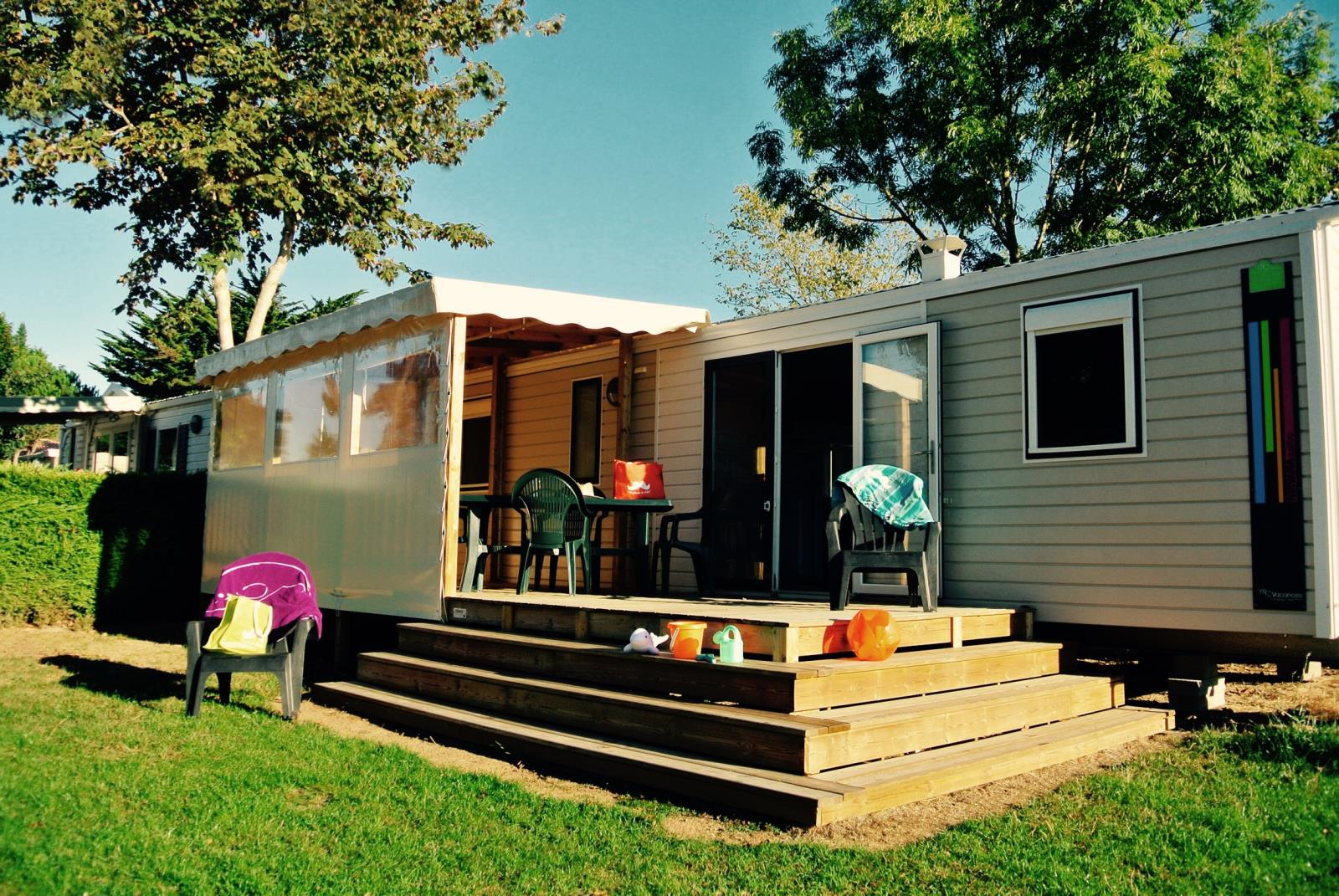 Location - Cottage Family Grand Confort Plus / D - Camping Le Littoral