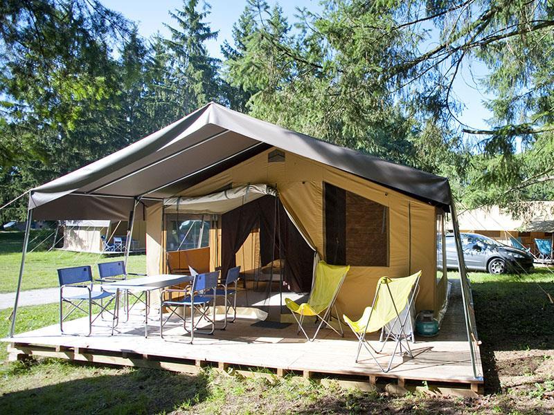 Location - Tente Toile & Bois Sweet + - Huttopia Gorges du Verdon