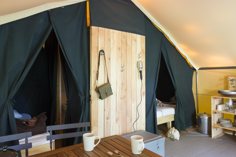 Location - Tente Trappeur - Huttopia Gorges du Verdon
