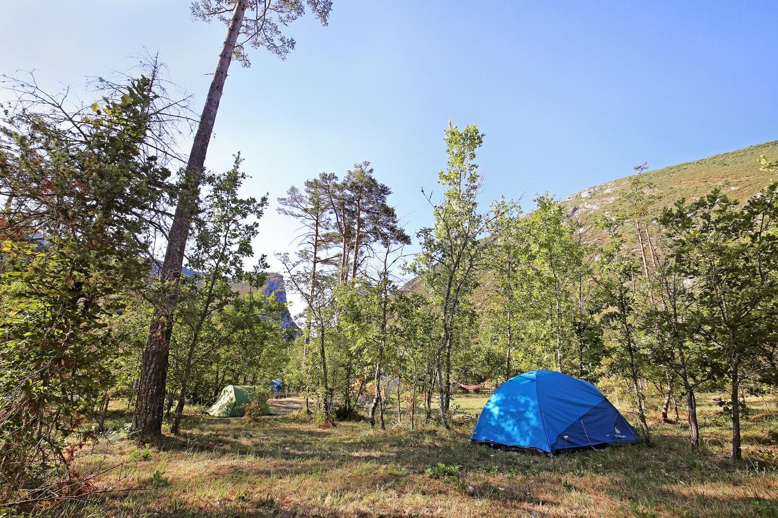 Emplacement - Emplacement Camping Confort - Huttopia Gorges du Verdon